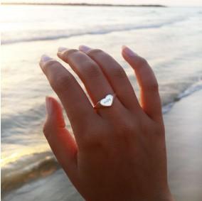 טבעת חותם אמור-כסף