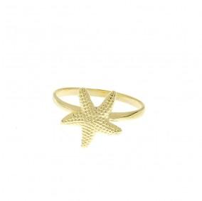 טבעת כוכב ים-גולד'