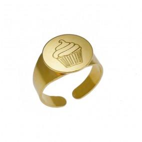 טבעת חותם קאפקייק
