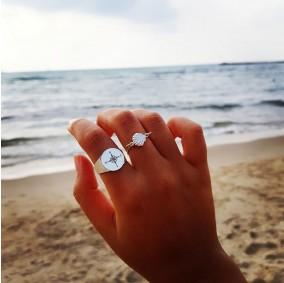 טבעת חותם מצפן