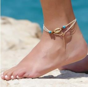 צמיד רגל הוואי קרם
